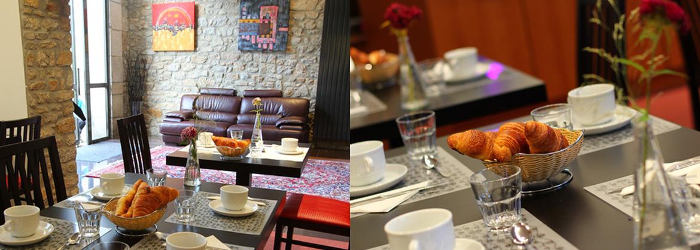 Résidence Duguesclin - Dinan - Vacancéole - Service petit déjeuner